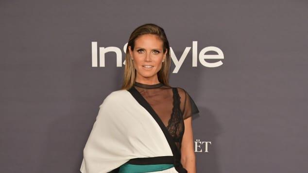 Heidi Klum sexy InStyle Awards