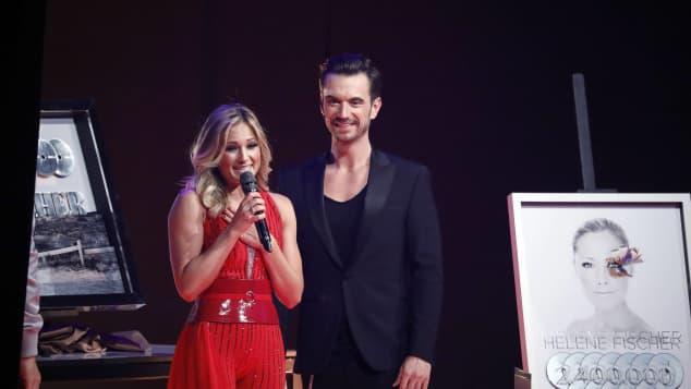 """Helene Fischer und Florian Silbereisen bei """"Schlagerchampions - Das große Fest der Besten"""" 2018"""