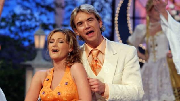 Helene Fischer und Florian Silbereisen bei ihrem ersten gemeinsamen Auftritt