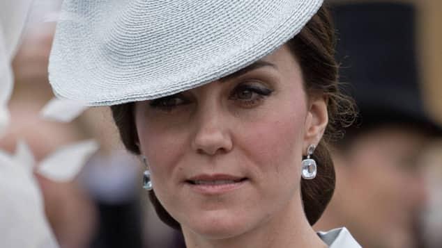 Herzogin Catherine, Gartenparty der Queen, 2017, Buckingham Palace
