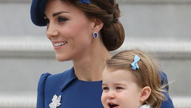 Herzogin Catherine und Prinzessin Charlotte in Kanada
