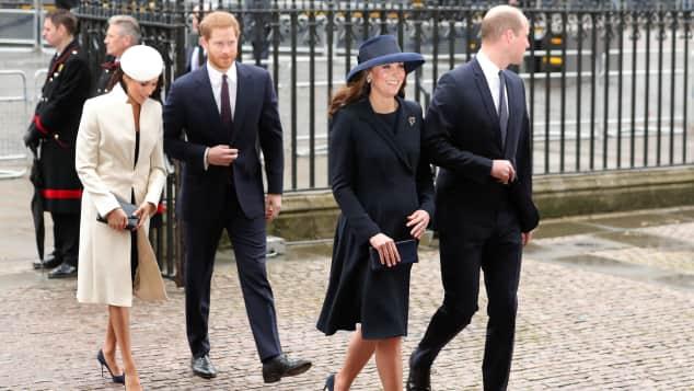 Herzogin Kate Prinz William Herzogin Meghan Prinz Harry