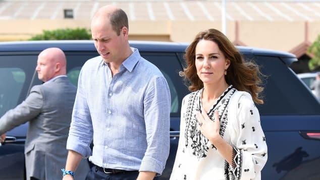Herzogin Kate Prinz William Pakistan