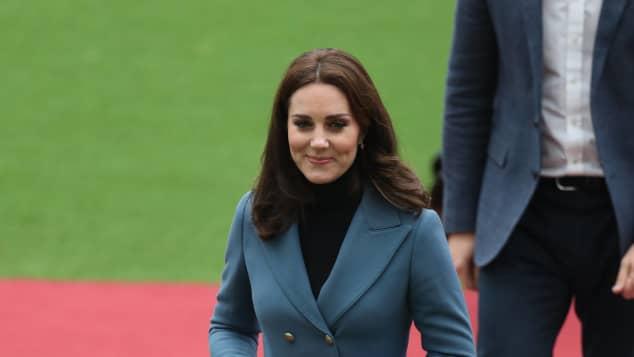 Herzogin Kate überzeugte in dem lässigen Outfit