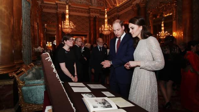 Herzogin kate Prinz William India Year of Culture