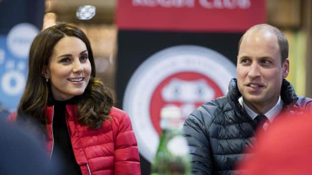 Prinz William Kate sportlich