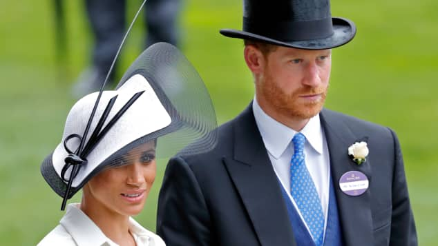 Prinz Harry Herzogin Meghan Ascot