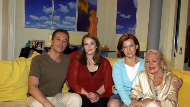 Unter Uns Holger Franke, Janis Rattenni, Petra Blossey und Christiane Maybach