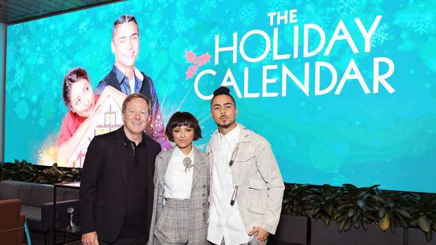 The Netflix Original Film The Holiday Calendar