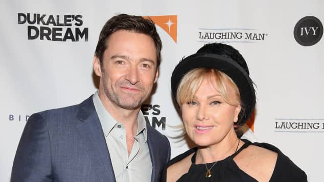 Hugh Jackman and Deborra-Lee Furness.