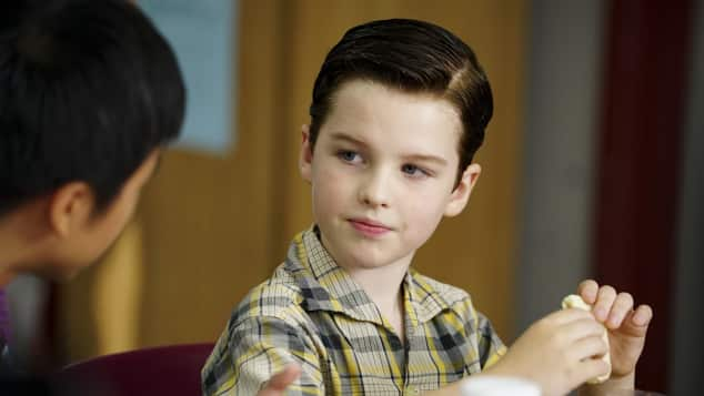 Young Sheldon, Iain Armitage, Big Bang Theory, Spin-off