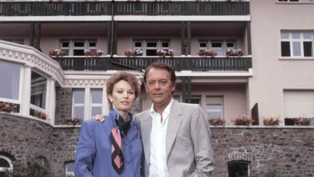 Ilona Grübel und Klausjürgen Wussow