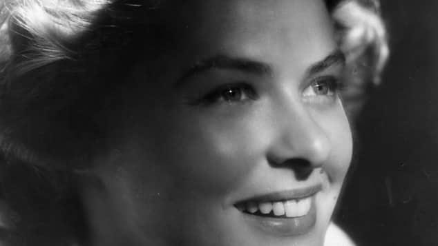 Ingrid Bergman früher