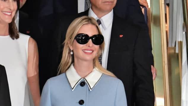 Ivanka Trump Donald Trump stylisch Sonnenbrille USA