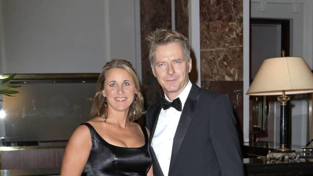 Jörg Pilawa mit seiner Frau Irina