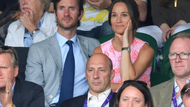 James Matthews und Pippa Middleton