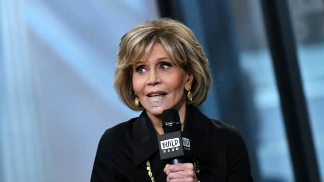 Jane Fonda, Grace and Frankie, Tumor