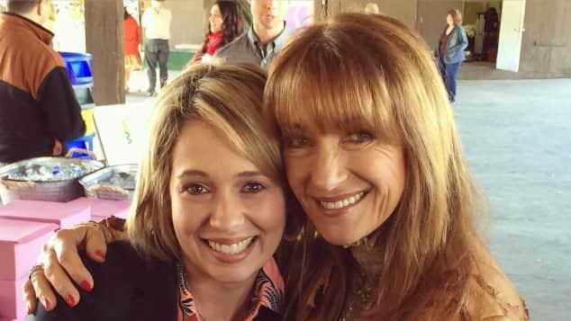 """Jane Seymour und Erika Flores spielten """"Dr. Quinn"""" und """"Colleen"""""""