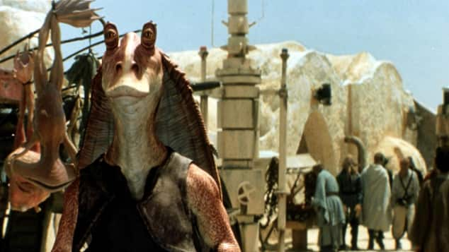 "Jar-Jar Binks aus ""Star Wars"""