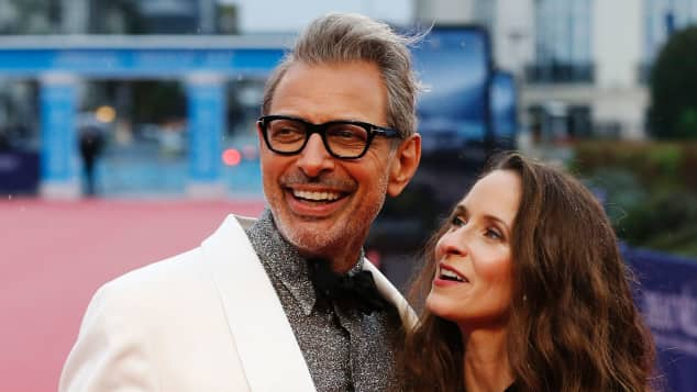 """Jeff Goldblum und Emilie Livingston beim Screening seines Films """"Kidnap"""" 2017"""