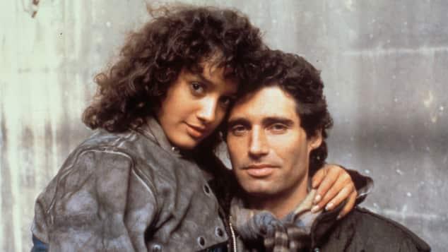 """Jennifer Beals und Michael Nouri in """"Flashdance"""" 1983"""