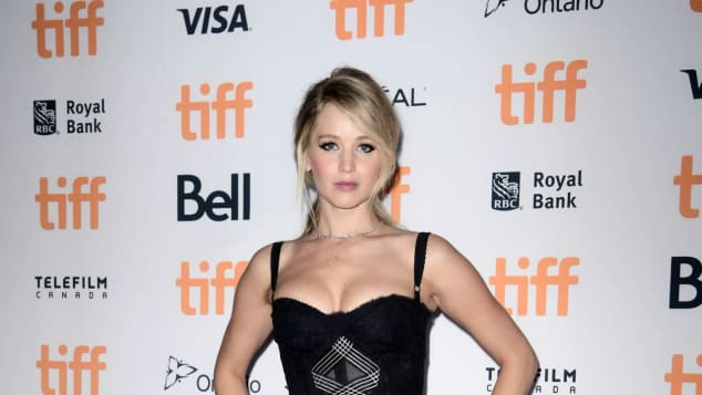 """Hunger Games""-Star Jennifer Lawrence bei der Premiere von ""mother!"" in Toronto"