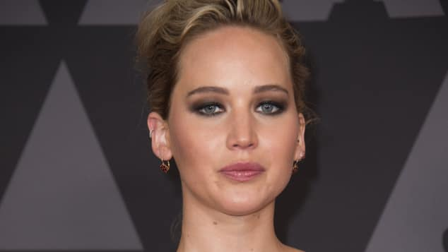Jennifer Lawrence Governors Awards