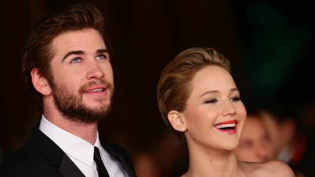 Jennifer Lawrence und Liam Hemsworth