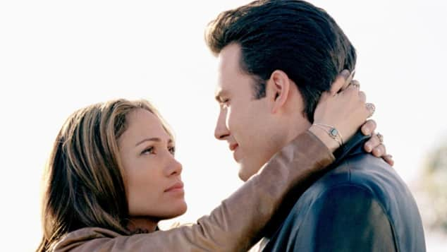 """Jennifer Lopez und Ben Affleck in  """"Liebe mit Risiko"""" 2004"""