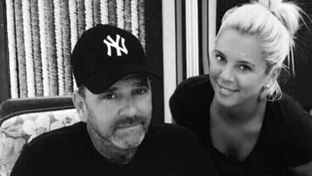 Jennifer und Papa Andreas Frankhauser