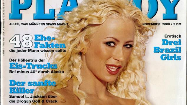 Jenny Elvers erstes Playboy-Cover