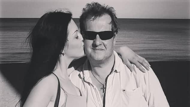 Jenny gemeinsam mit ihrem Vater Jens Büchner