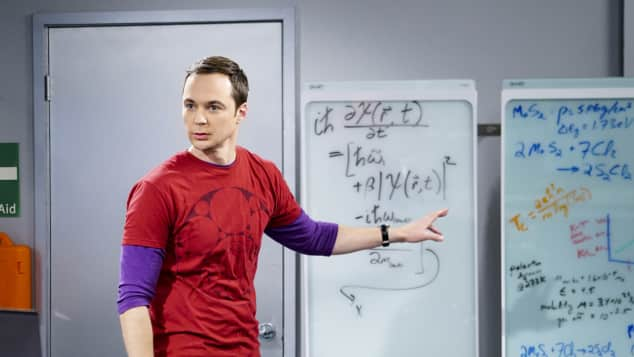 """Dr. Sheldon Cooper"" in seinem Element"