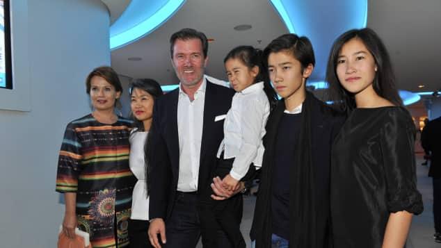 John Jürgens mit seiner Familie und Schwester Jenny Jürgens