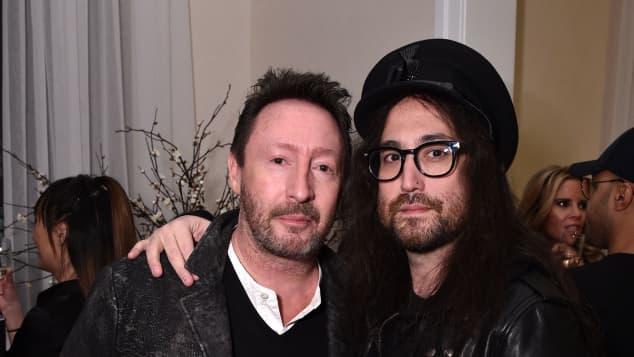 Julian Lennon und Sean Lennon