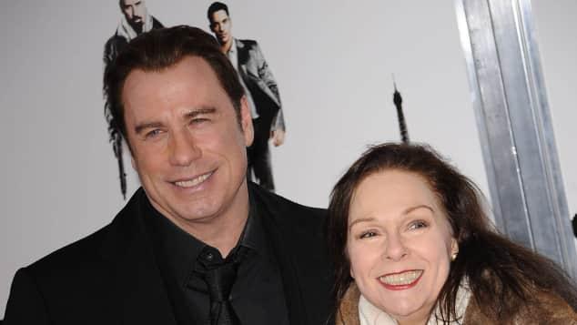 """Die """"Saturday Night Fever""""-Stars John Travolta und Karen Lynn Gorney im Jahr 2010"""