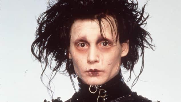 """Johnny Depp als """"Edward mit den Scherenhänden"""""""