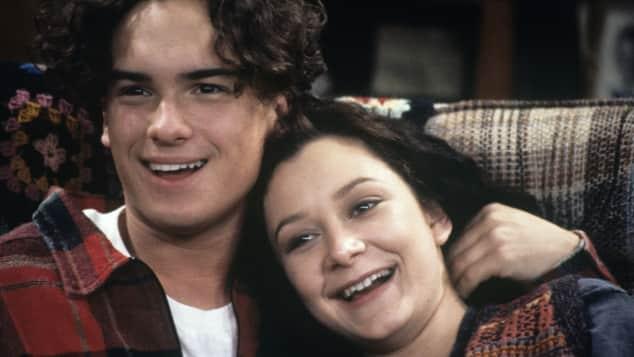 Johnny Galecki und Sara Gilbert Roseanne Schauspieler so sah er früher aus