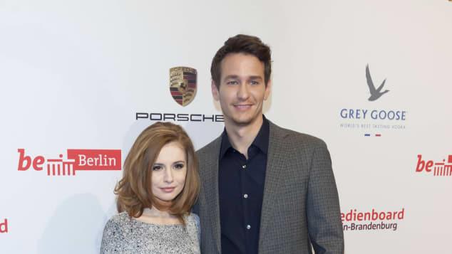 Josefine Preuß und Vladimir Burlakov Freunde Paar Gerüchte Berlinale Roter Teppich Schauspieler