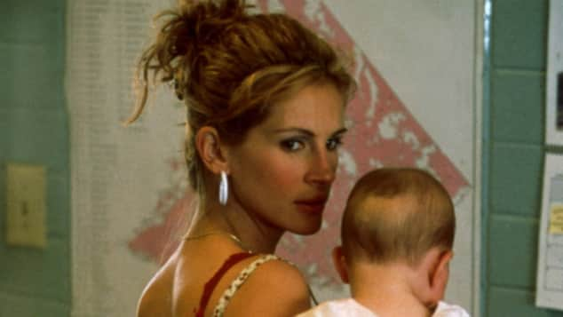 "Julia Roberts in ""Erin Brockovich"""