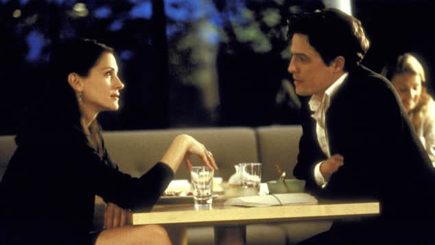 "Julia Roberts und Hugh Grant in ""Notting Hill"""