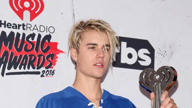 Justin Bieber bei den iHeart Music Awards