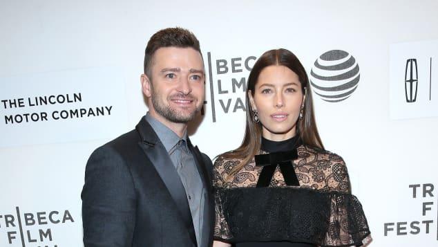 Justin Timberlake und Jessica Biel gemeinsam auf dem Roten Teppich