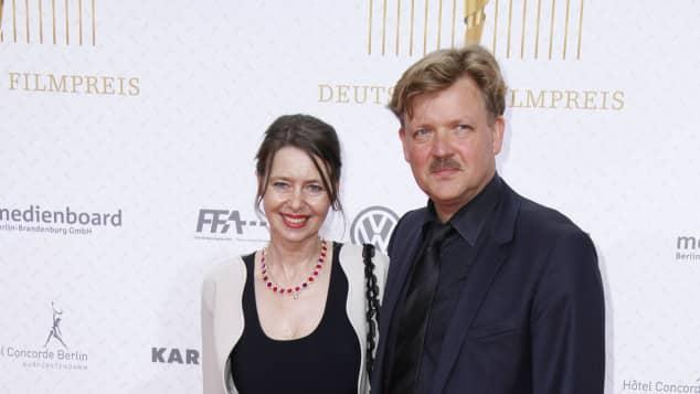 Justus von Dohnanyi und seine Frau Maxi bei der Verleihung des Deutschen Filmpreises