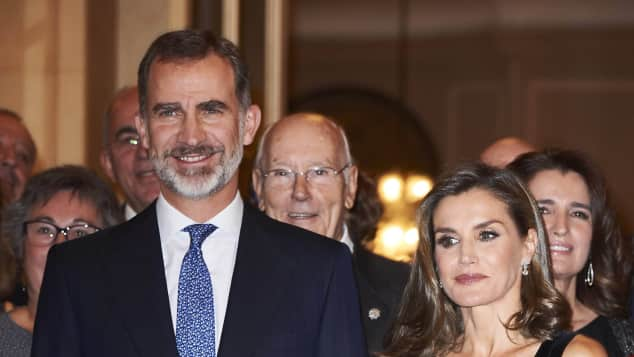 König Felipe Königin Letizia Francisco Cerecedo Journalismus Awards