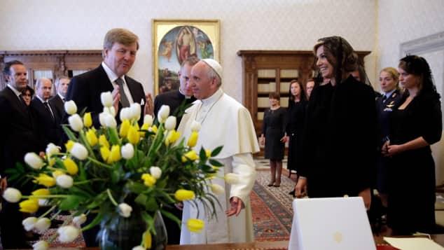 Besuch Papst Franziskus Vatikan König Willem-Alexander Königin Maxima