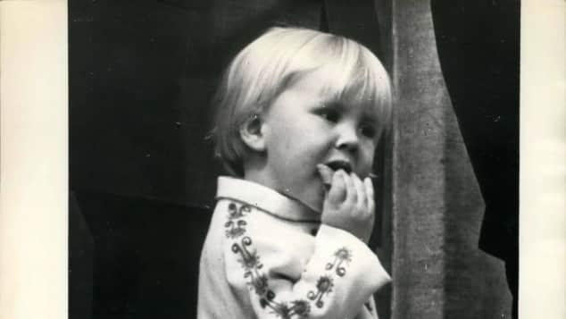 König Willem-Alexander als Kind