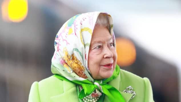 Königin Elisabeth II. Style Reise