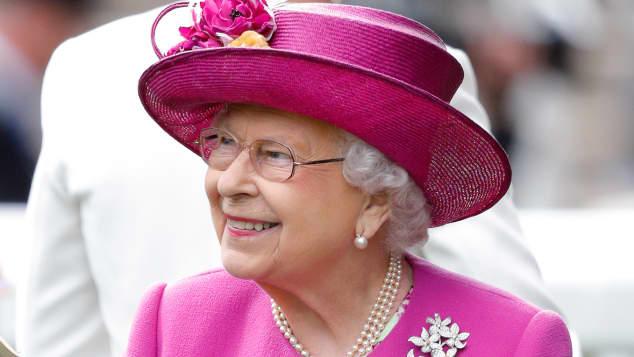 Königin Elisabeth II. bei den Royal-Ascot-Rennwochen
