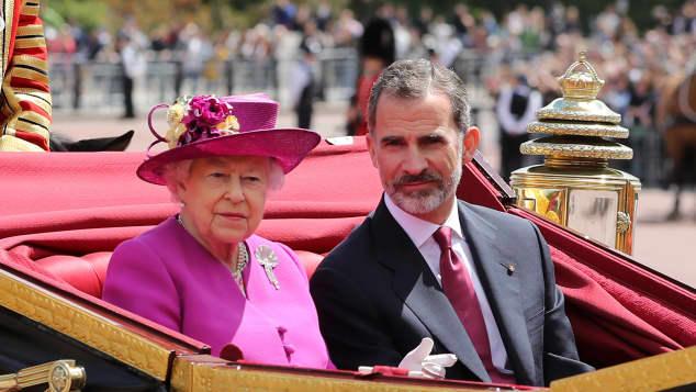 Queen Elisabeth König Felipe